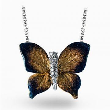 Simon G. 18k Yellow Gold Diamond Pendant