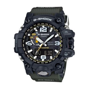 G-SHOCK MASTER OF G Black Resin Quartz 59mm Watch