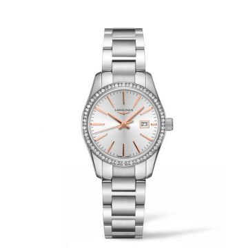 Longines Conquest Classic 29mm Stainless Steel Watch