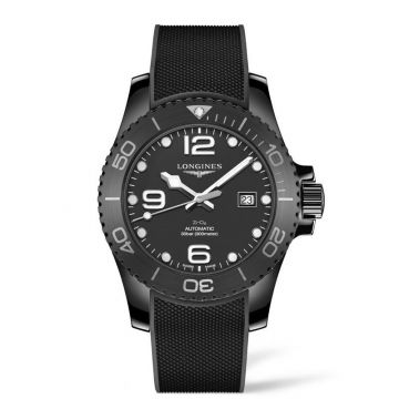 Longines HydroConquest 43mm Ceramic Automatic Diving Watch