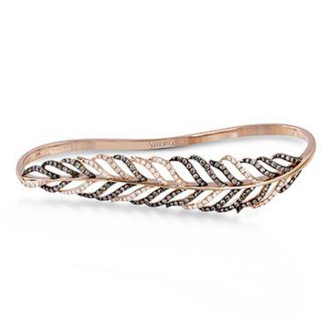 Simon G. 18k Rose Gold Modern Enchantment Diamond Ring