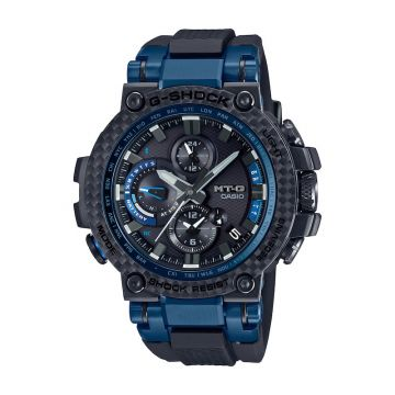 G-SHOCK MT-G Black Carbon Fiber Quartz 55mm Watch