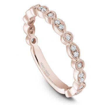 Noam Carver 14k Rose Gold Stackable Ring