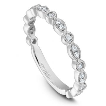 Noam Carver 14k White Gold Stackable Ring