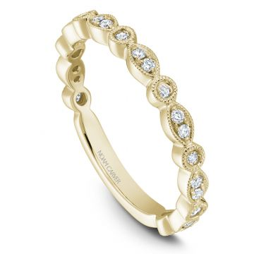 Noam Carver 14k Yellow Gold Stackable Ring
