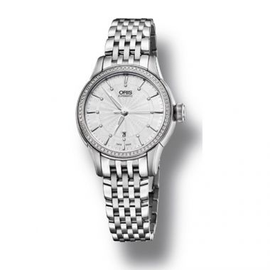 Oris Artelier Date Diamonds Women's Watch