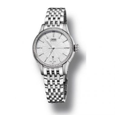 Oris Artelier Date Diamonds Women's Watch