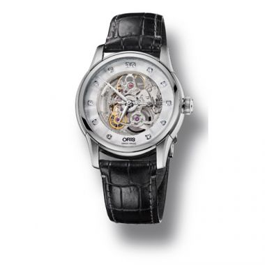 Oris Artelier Skeleton Diamonds Men's Watch
