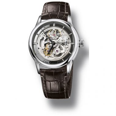 Oris Artelier Translucent Skeleton Men's Watch