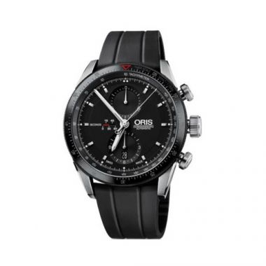 Oris Artix GT Chronograph Stainless Steel and Rubber Mens Watch