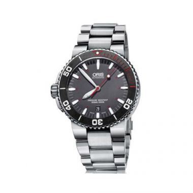 Oris Aquis Red Limited Edition Stainless Steel Mens Watch