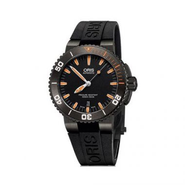 Oris Aquis Stainless Steel and Rubber Mens Watch