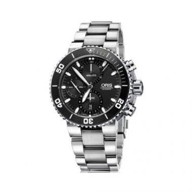 Oris Aquis Stainless Steel Mens Watch