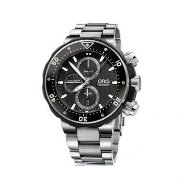 Oris ProDiver Chronograph Titanium Mens Watch
