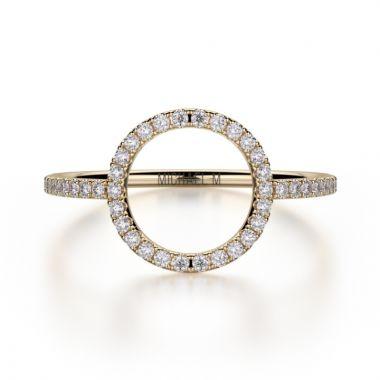 Michael M 14k Yellow Gold Diamond Ring