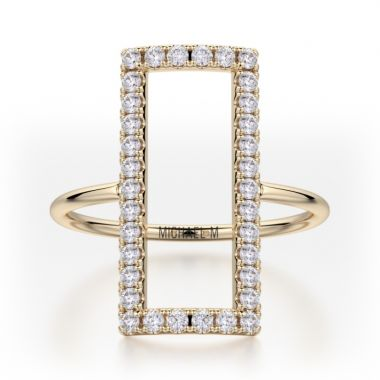 Michael M 14k Yellow Gold Diamond Ring