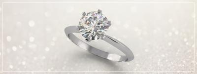 Why are diamonds the most popular stones for engagement rings?